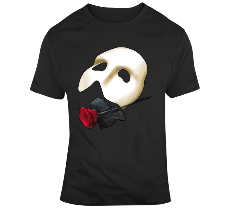 Phantom Of The Opera Mask T Shirt