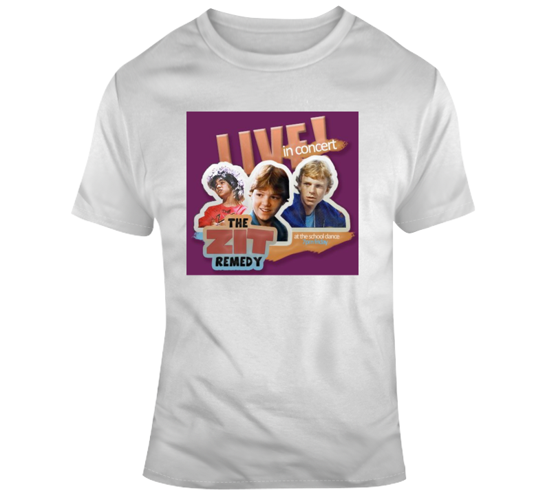 The Zit Remedy Dance Flyer Degrassi Retro T Shirt