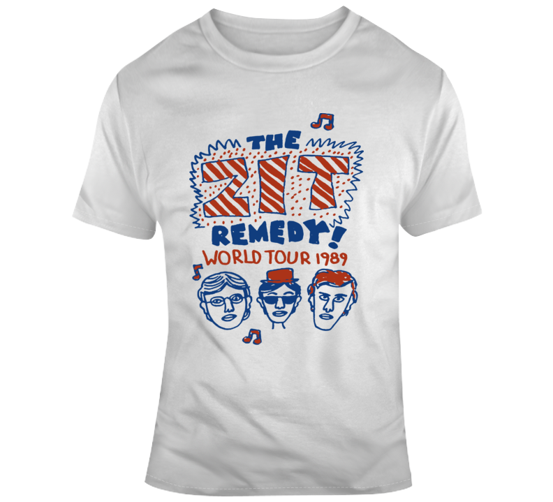 The Zit Remedy World Tour 1989 Degrassi Retro T Shirt