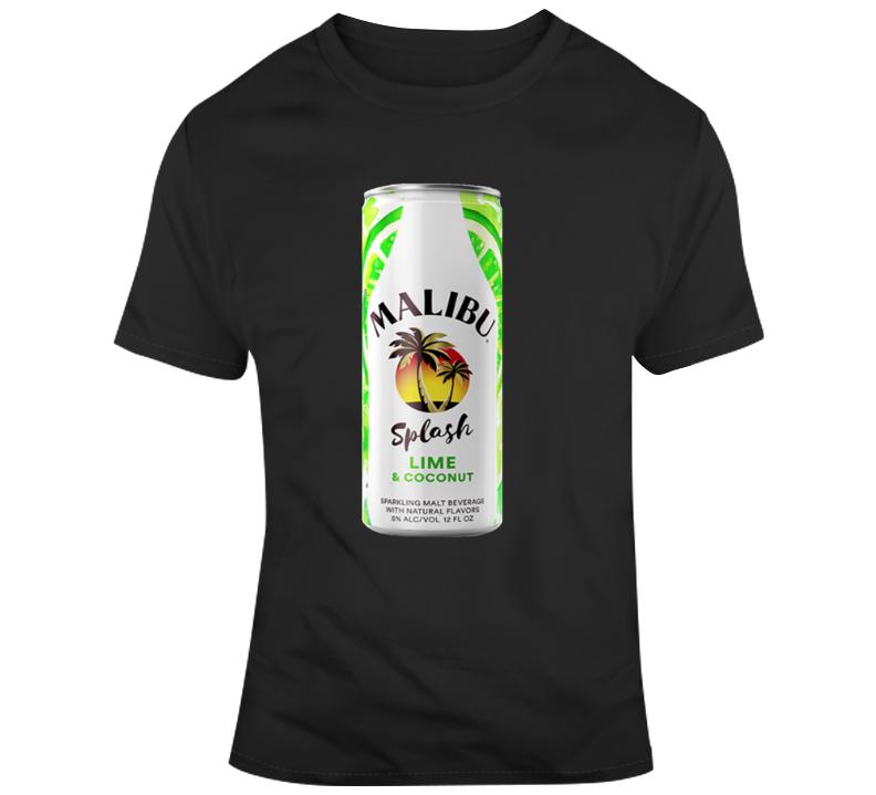 Malibu Splash Lime Coconut Malt Cooler T Shirt