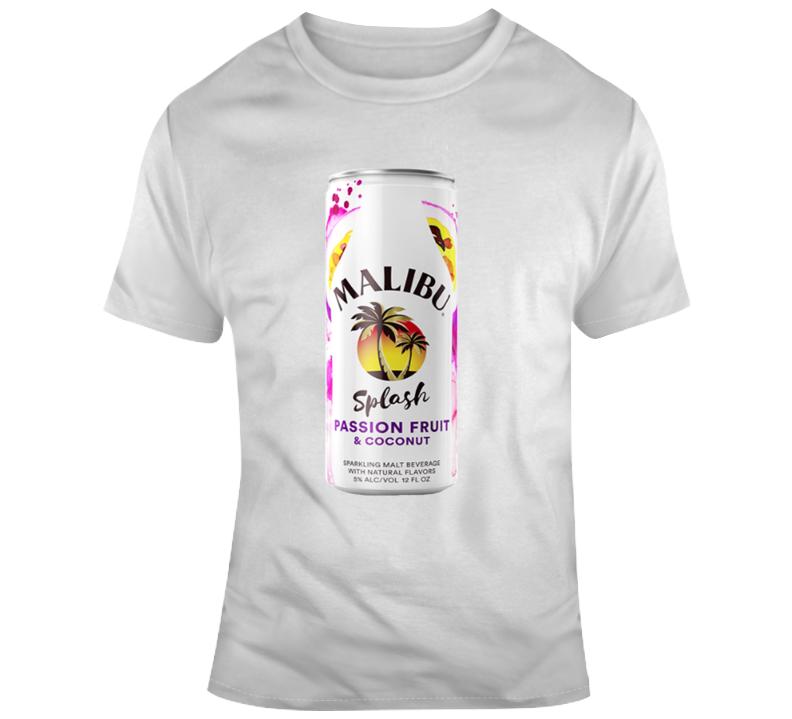 Malibu Splash Passion Fruit Malt Cooler T Shirt