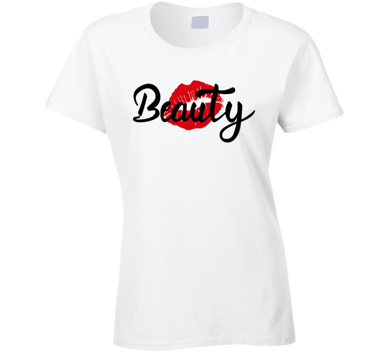 Beauty Couple Ladies T Shirt
