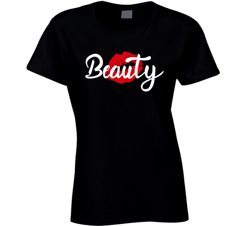 Beauty Couples Ladies T Shirt