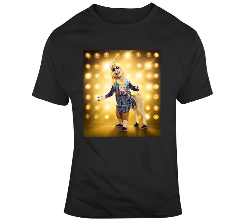 The Masked Singer Llama T Shirt