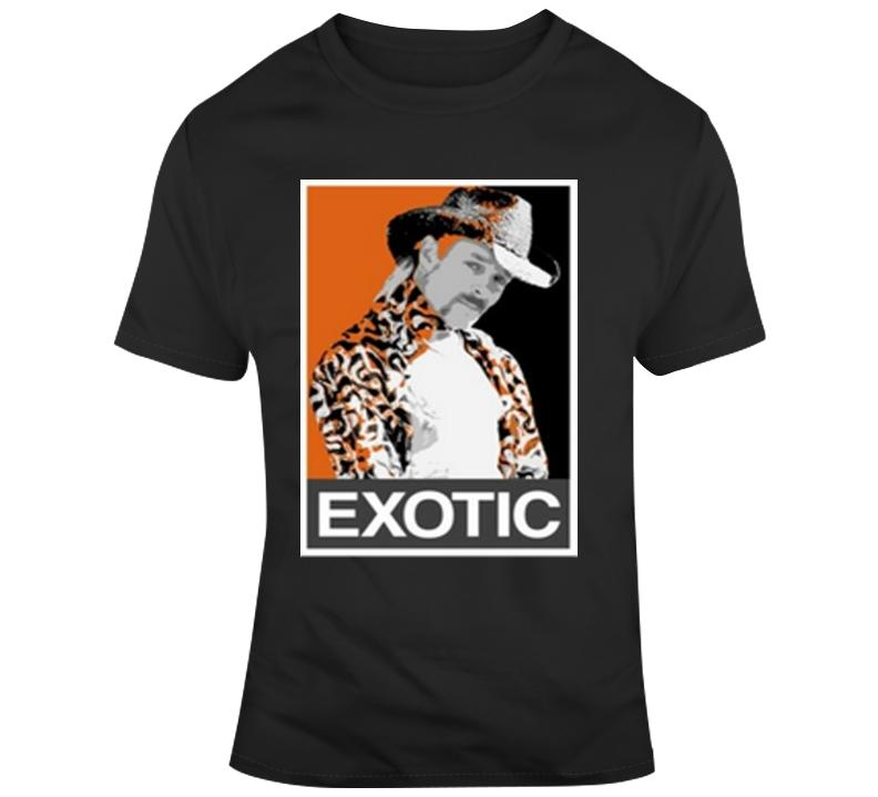 Joe Exotic Tiger King Hope Poster T Shirt