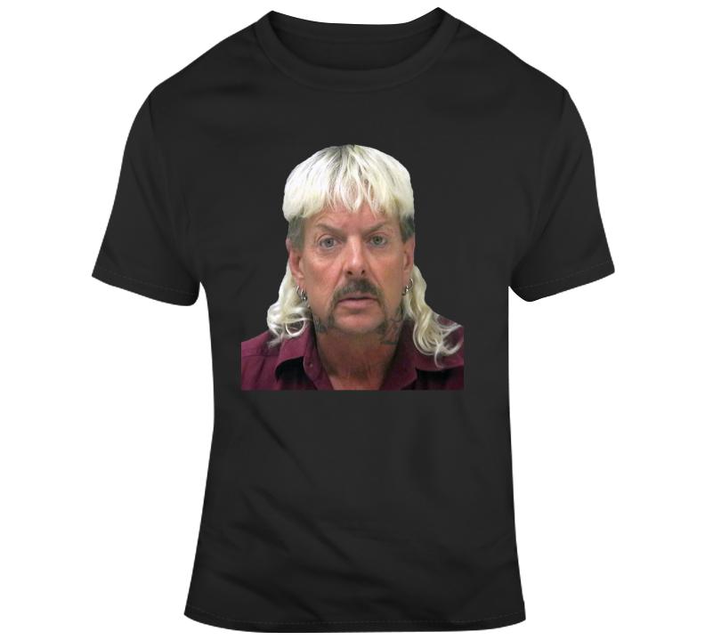 Tiger King Joe Exotic Mugshot T Shirt