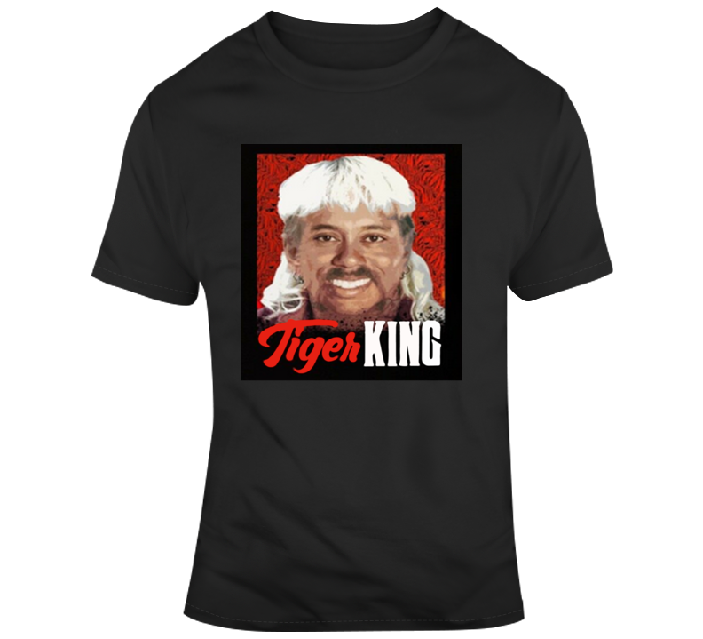 Tiger Woods Joe Exotic Mashup Tiger King T Shirt