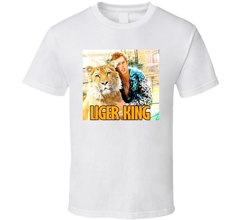Liger King Napolean Dynamite Tiger King Parody  T Shirt