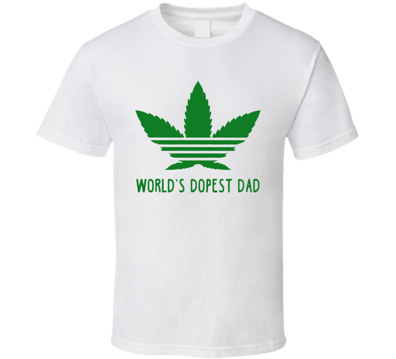 World's Dopest Dad Fathers Day T Shirt