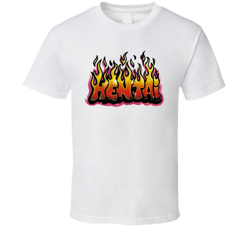 Hentai Graffiti Flames T Shirt