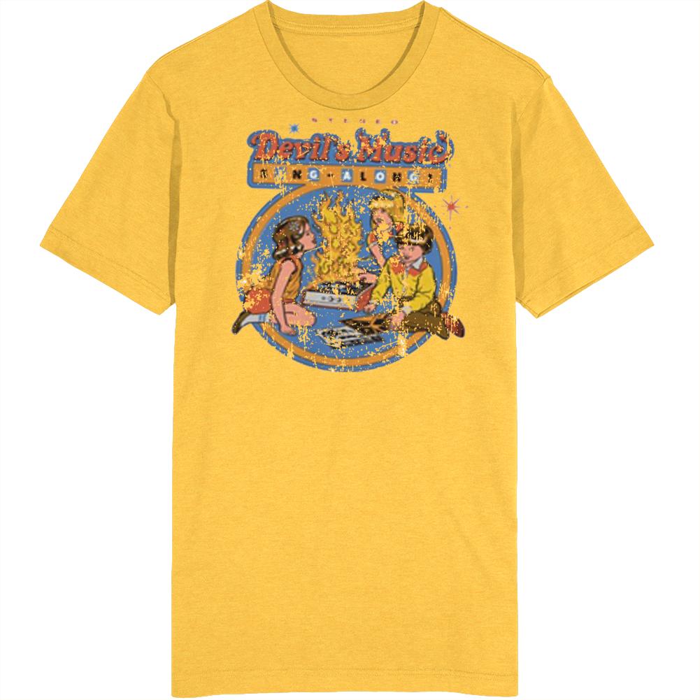 Devils Music Sing Along Vintage T Shirt