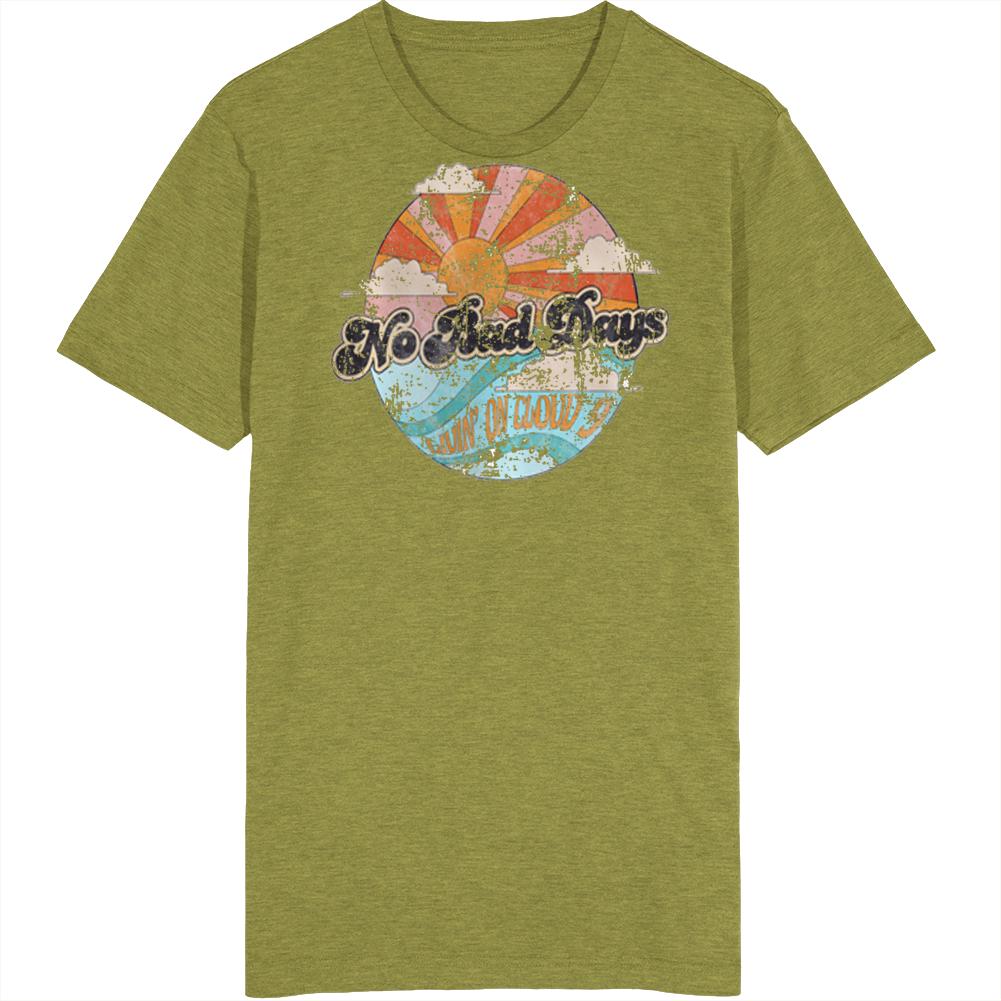 No Bad Days Livin On Cloud 9 Vintage T Shirt