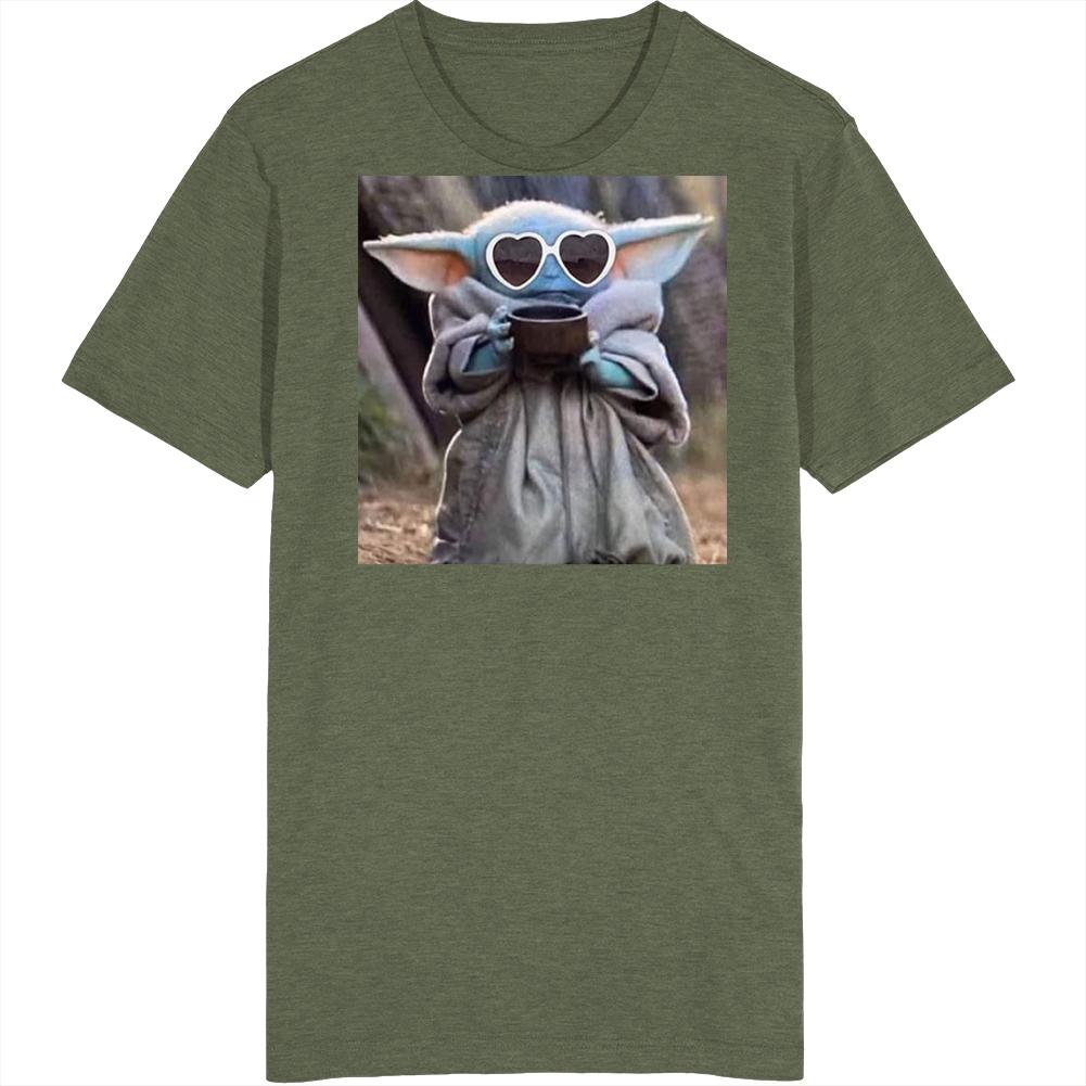 Baby Yoda Drama Queen T Shirt