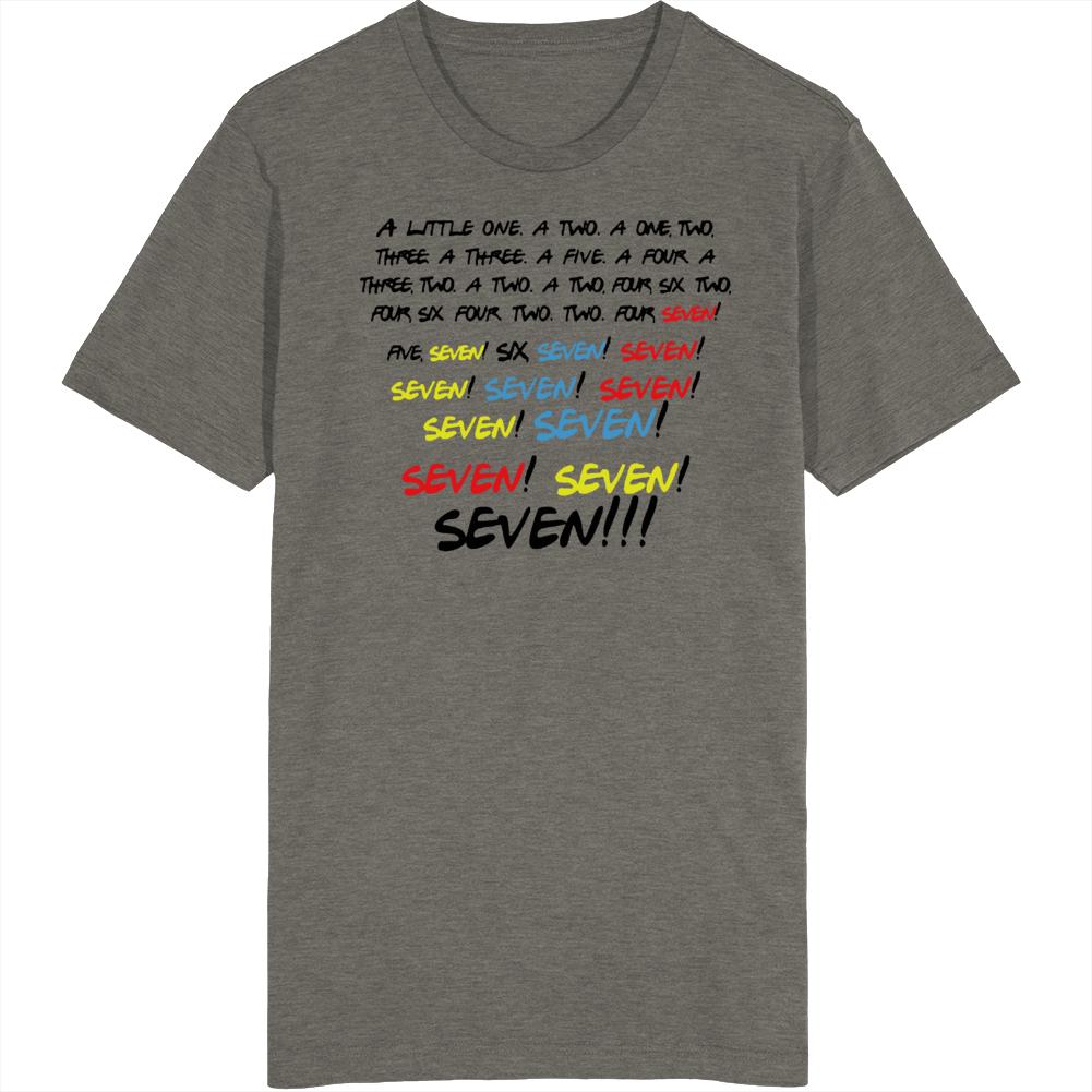 Friends Monica Seven Quote T Shirt