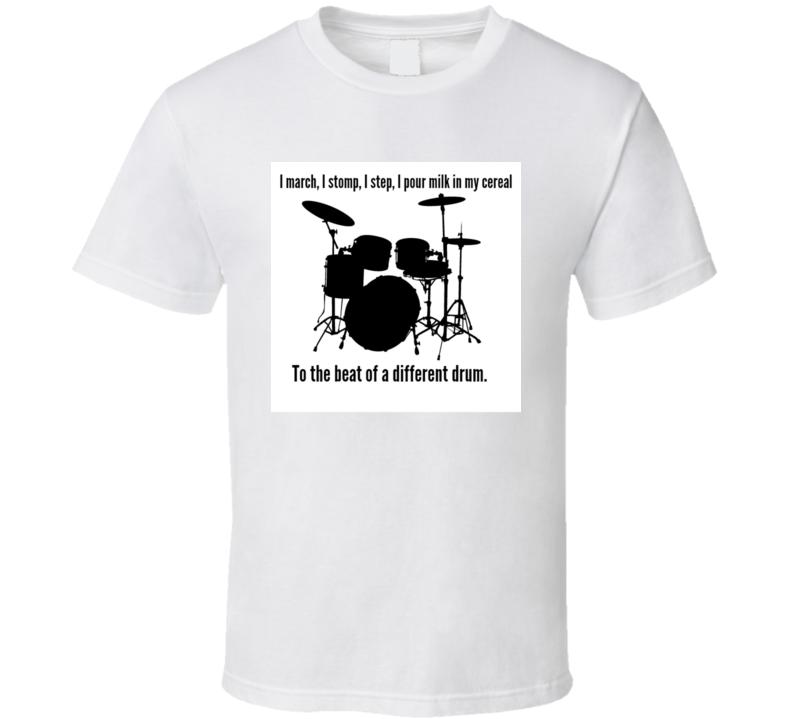 Drum Beat T Shirt