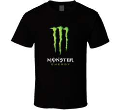 Monster Energy Drink Sports Drink Cool Fan T Shirt
