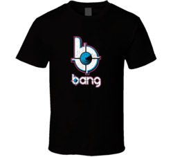 Bang Energy Drink Sports Drink Worn Look Distressed Cool Fan T Shirt