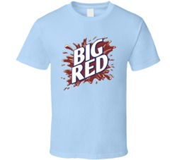 Big Red Soft Drink Soda Pop Drink Fan T Shirt