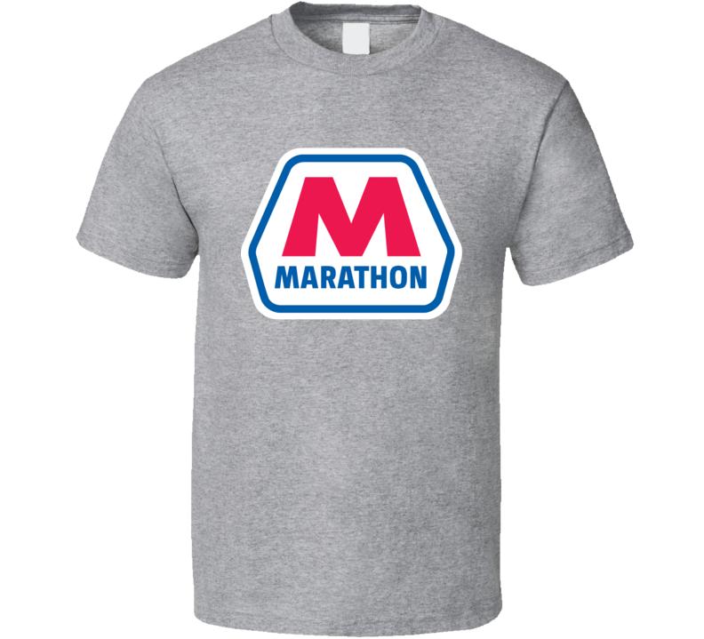 Marathon Gas Station Convenience Store Cool Fan T Shirt