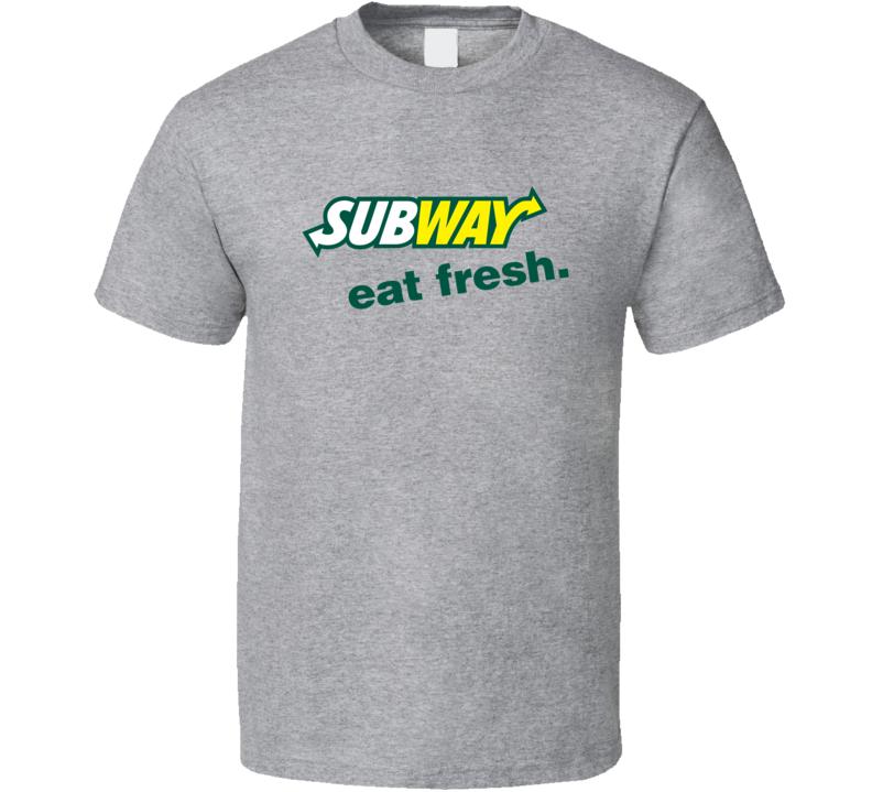 Subway Fast Food Restaurant Cool Fan T Shirt