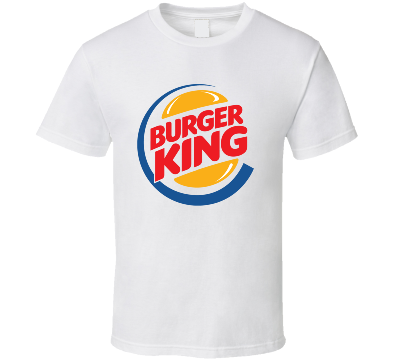 Burger King Fast Food Restaurant Cool Fan T Shirt