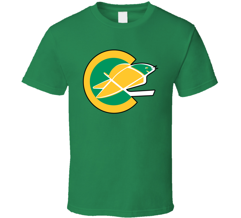 California Golden Seals Retro Hockey Team Logo Cool Fan T Shirt