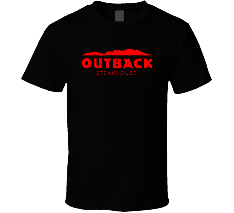 Outback Steakhouse Restaurant Cool Worn Look Distressed Fan T Shirt