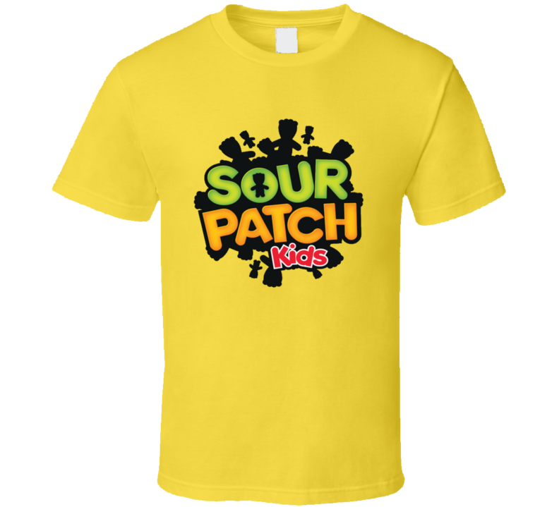 Sour Patch Kids Candy Junk Food Snack Cool Fan T Shirt