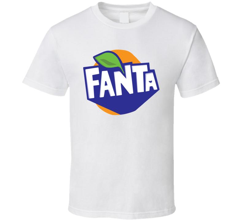 Fanta Orange Soft Drink Pop Soda Junk Drink Fan T Shirt