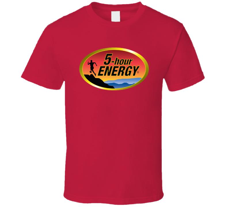 5 Hour Energy Drink Sports Drink Cool Fan T Shirt