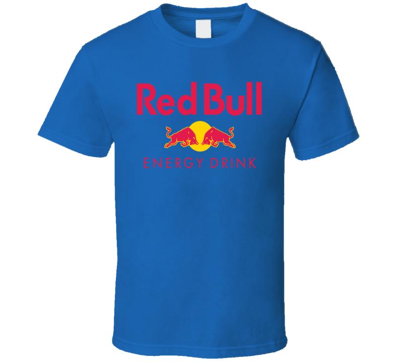 Red Bull Energy Drink Sports Drink Cool Fan T Shirt