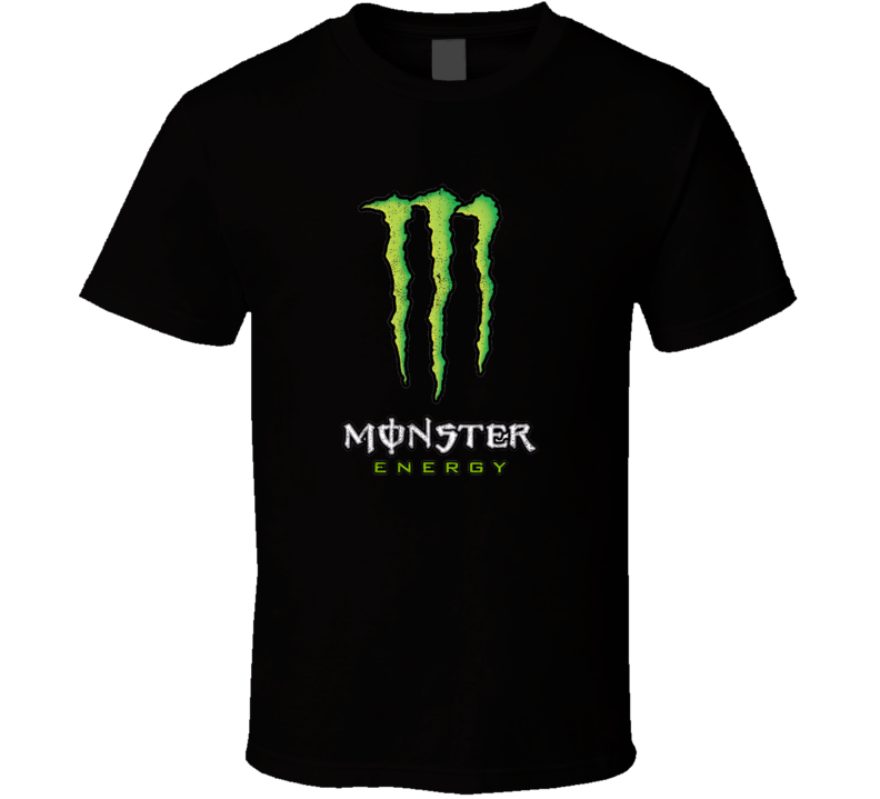 Monster Energy Drink Sports Drink Worn Look Distressed Cool Fan T Shirt