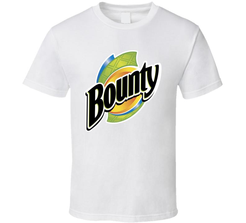 Bounty Paper Towels Quicker Picker Upper Cleaning Fan T Shirt