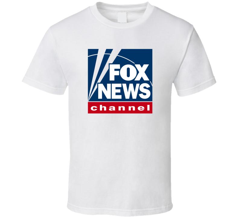 Fox News Channel Network Tv Channel Station Fan T Shirt