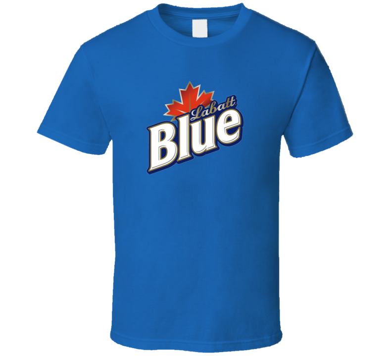Labatt Blue Beer Drink Alcohol Cool Fan T Shirt