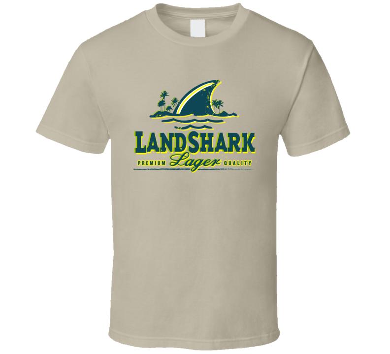 Landshark Beer Drink Alcohol Cool Fan T Shirt