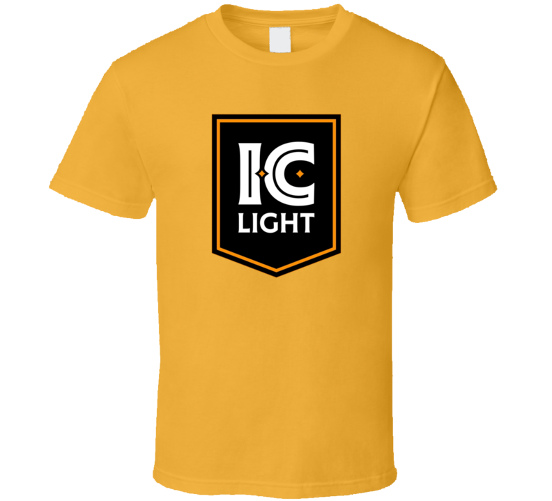 Ic Light Iron City Beer Drink Alcohol Cool Fan T Shirt