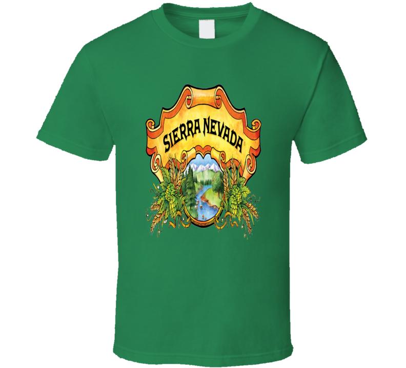 Sierra Nevada Beer Drink Alcohol Cool Fan T Shirt