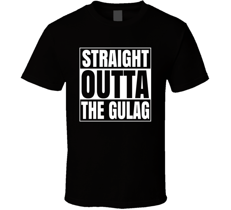 Straight Outta The Gulag Call Of Duty Warzone Video Game Fan T Shirt