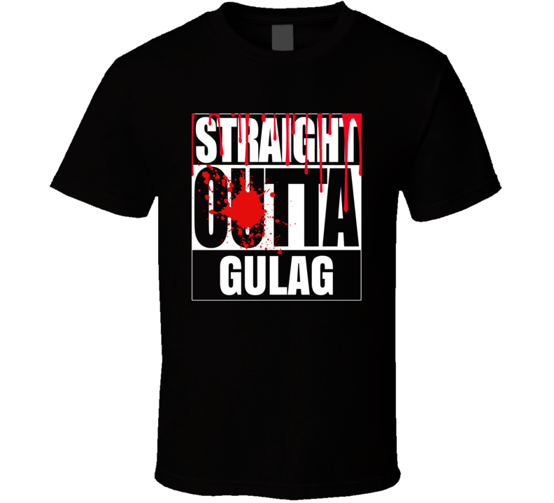 Straight Outta Gulag Call Of Duty Warzone Video Game T Shirt