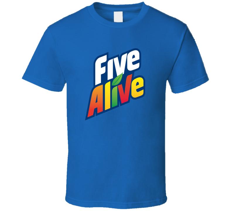 Five Alive Juice Drink Soft Drink Fan T Shirt