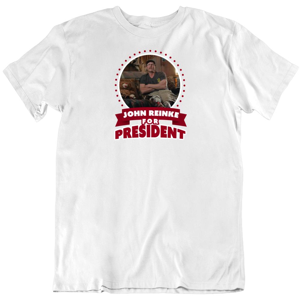 John Reinke Tiger King For President Trending Tv T Shirt