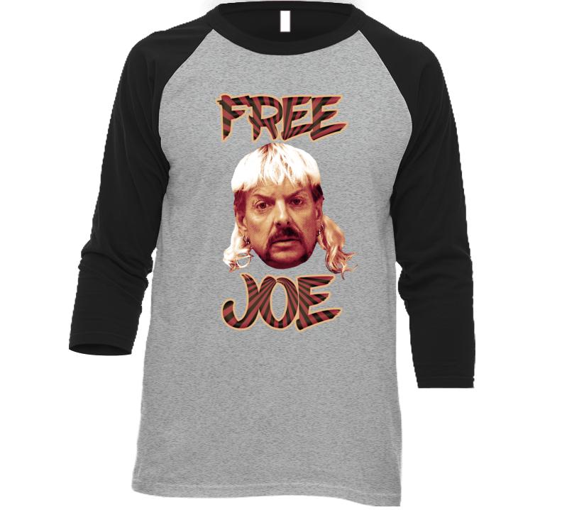 Free Joe Exotic Tiger King Pop Art T Shirt