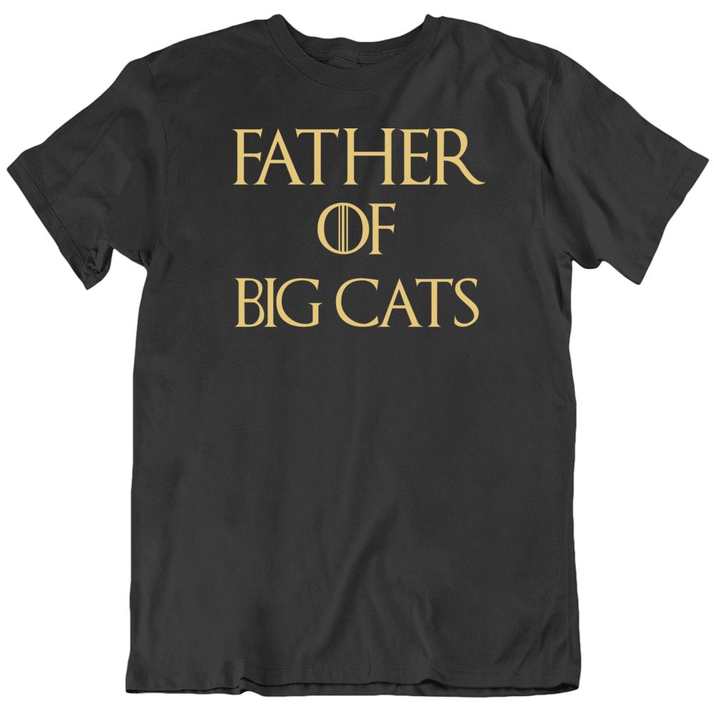 Father Of Big Cats John Reinke Joe Exotic Tiger King T Shirt