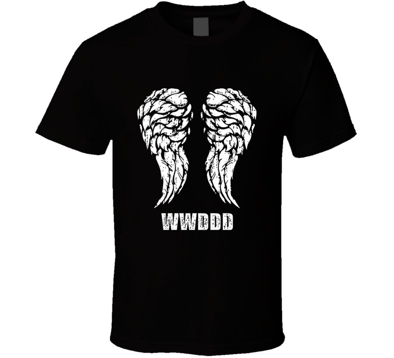 6129940eb The Walking Dead What Would Daryl Dixon Do Little Brother Wings T ...