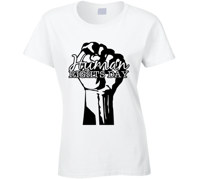 Human Rights Day Fun Celebration T Shirt