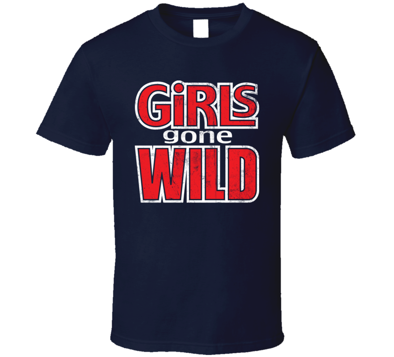 Girls Gone Wild Logo Distressed T Shirt