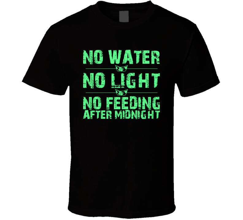 Gremlins 3 Rules Funny Monsters Movie Geek T Shirt