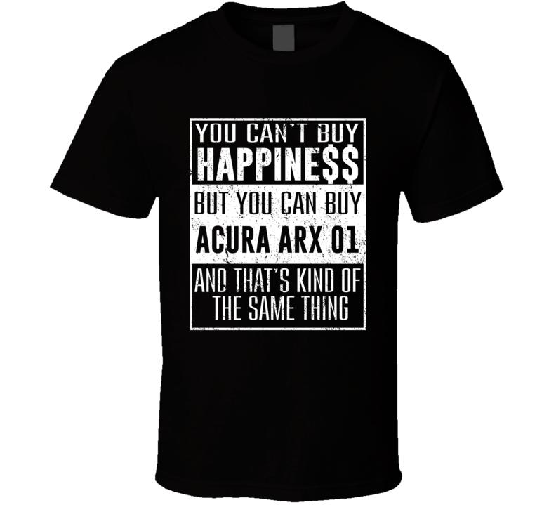 I Drive My Acura ARX 01 Heart Car Lover T Shirt