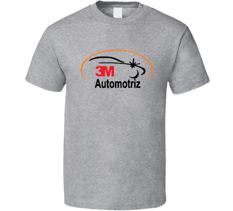 3M Automotriz Automobile Car Parts Cool Brand Logo T Shirt